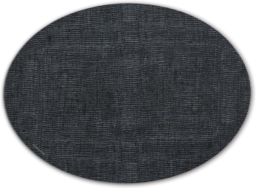 Silicone Oval Table Mats - Linen