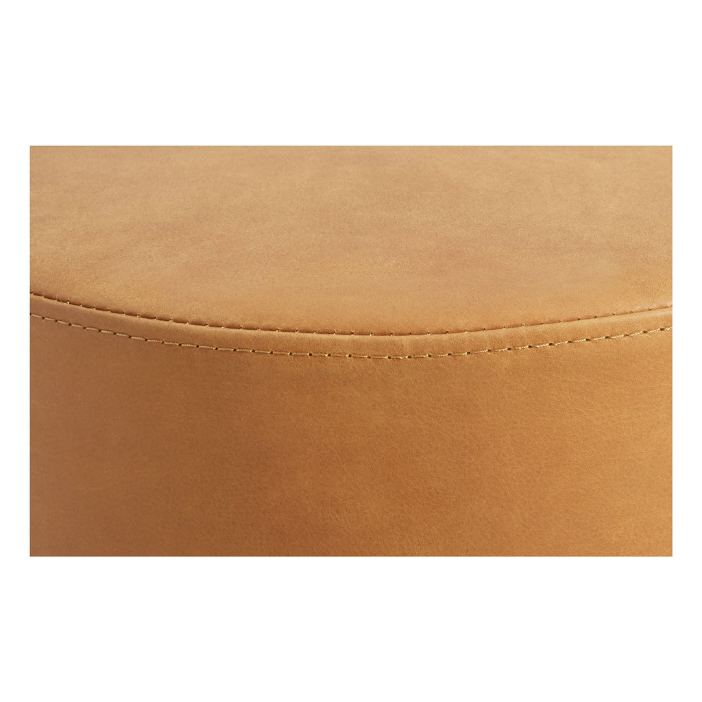 Bumper Large Leather Ottoman