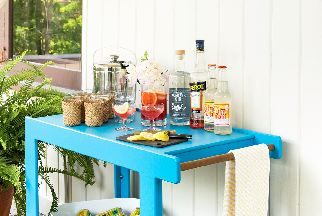 Lollygagger Bar Cart