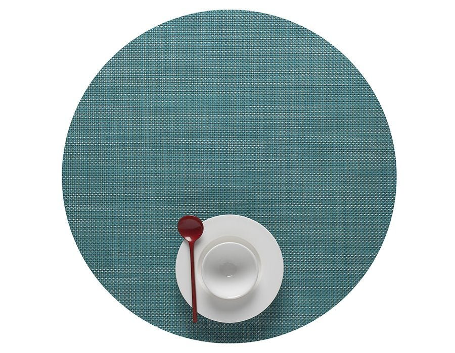 Round Mini Basketweave Table Mats