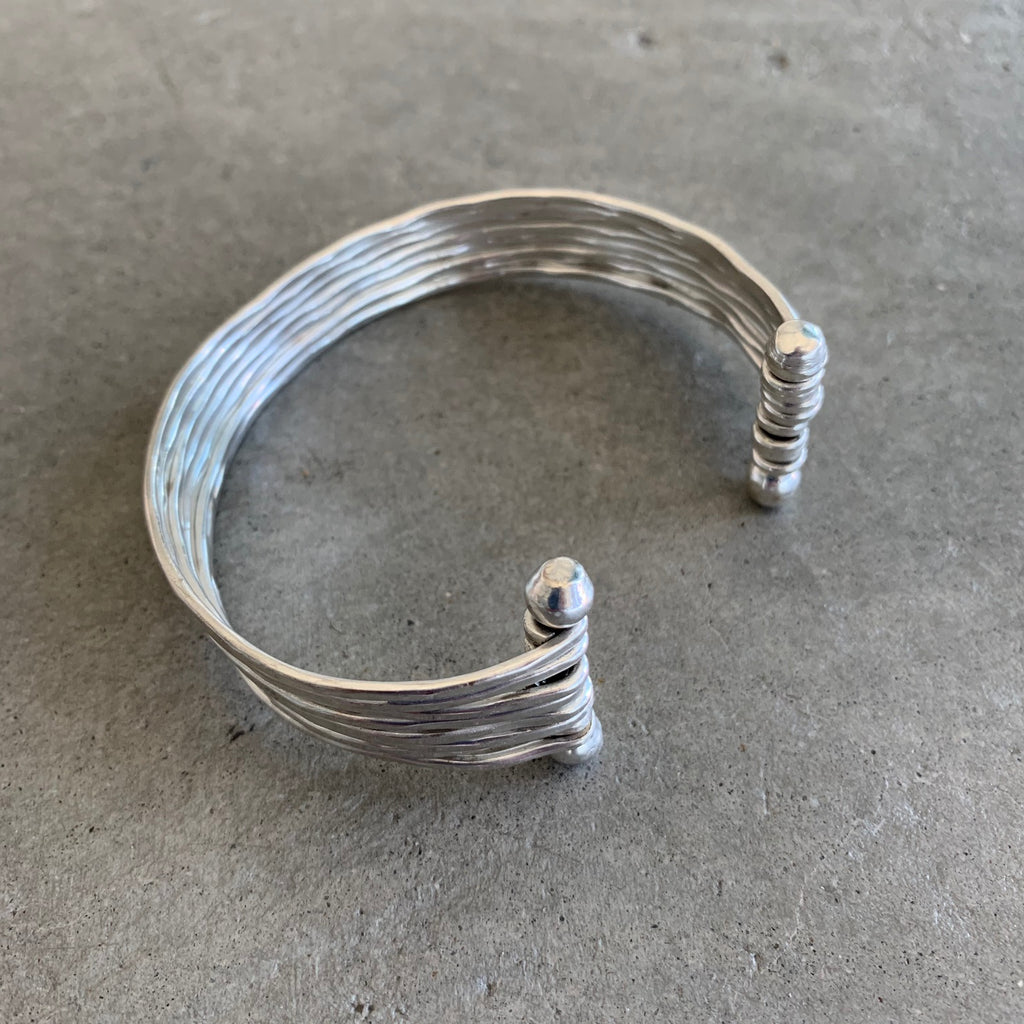 Hammered Metal Cuff