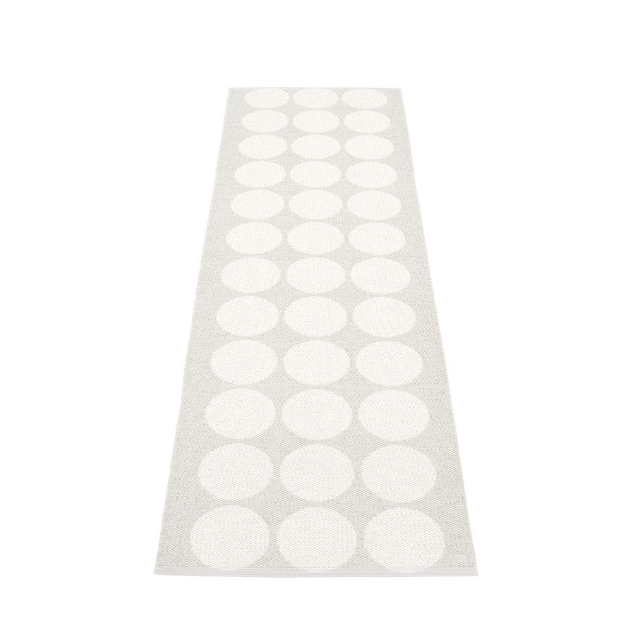 Hugo Rug - White Metallic