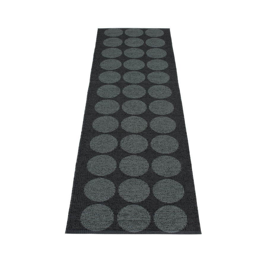 Hugo Rug - Black Metallic