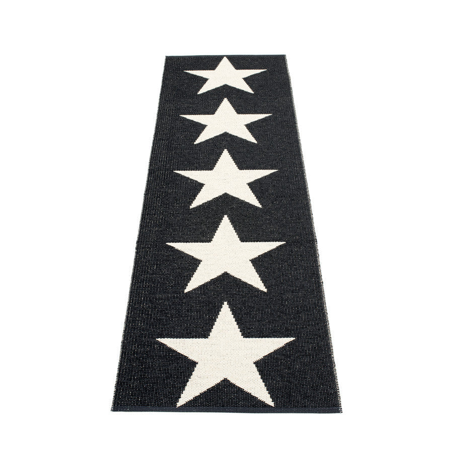 Viggo One Rug - Black/Vanilla