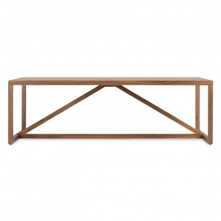 Strut Wood Square Coffee Table