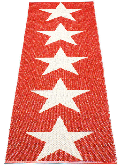 Viggo One Rug - Red/Vanilla