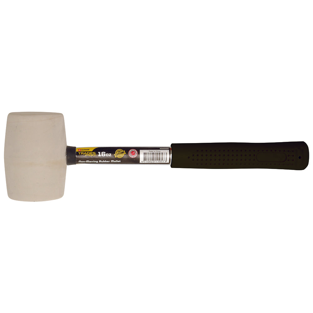 16oz Non Marking Rubber Mallet - Online Tools