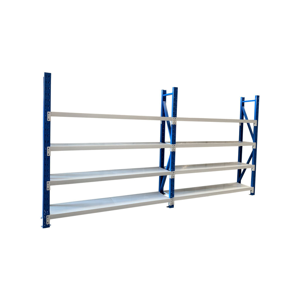 Longspan Shelving 2.5 H 600 W Brand New Double Bay - Online Tools