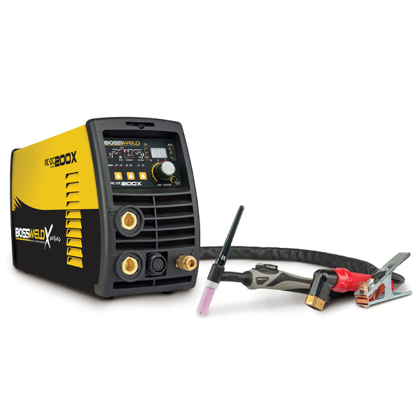 Bossweld X-Series 200X Extreme AC/DC Tig/Stick Pulse Welder - OnlineTools