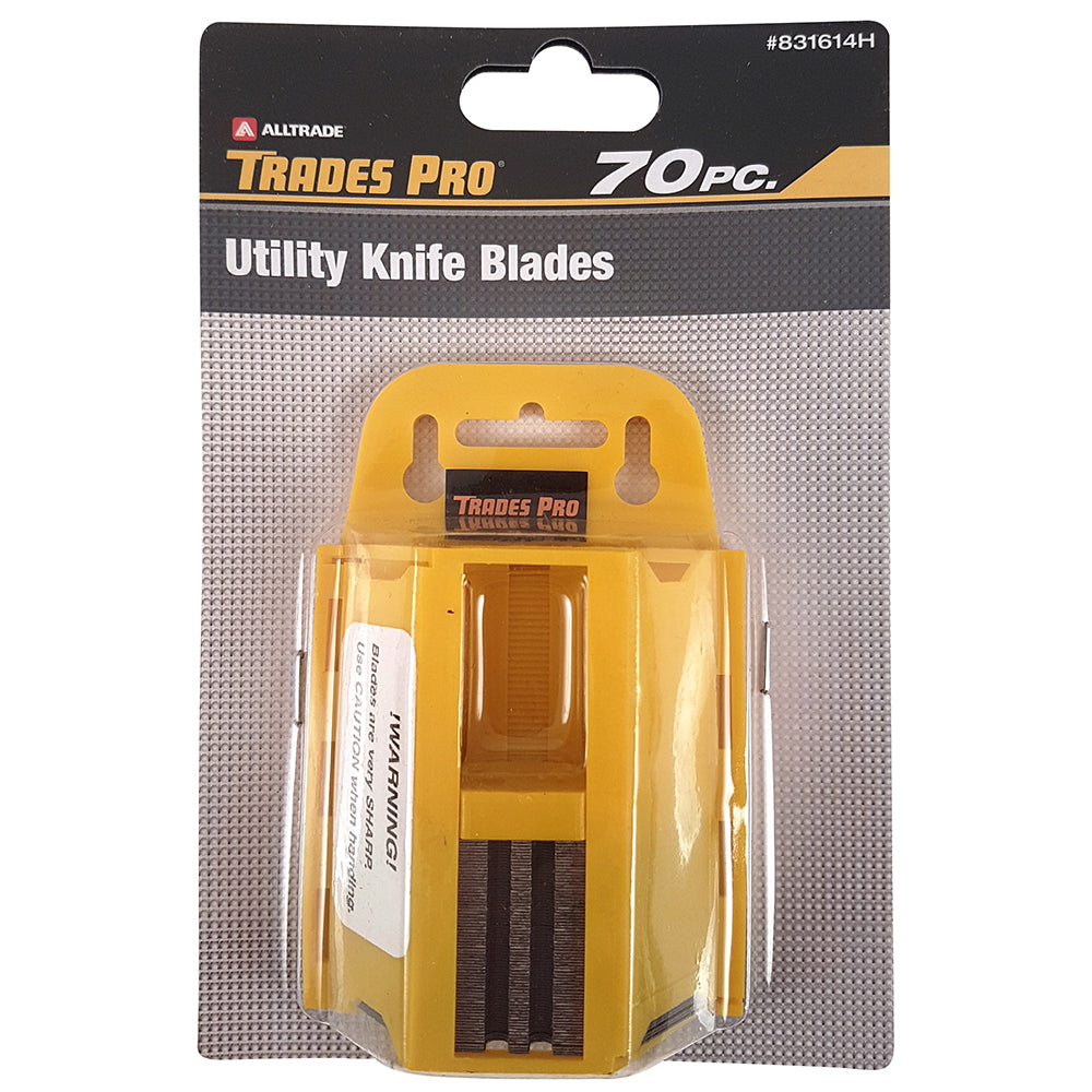 70pc Utility Knife Blades  - Online Tools