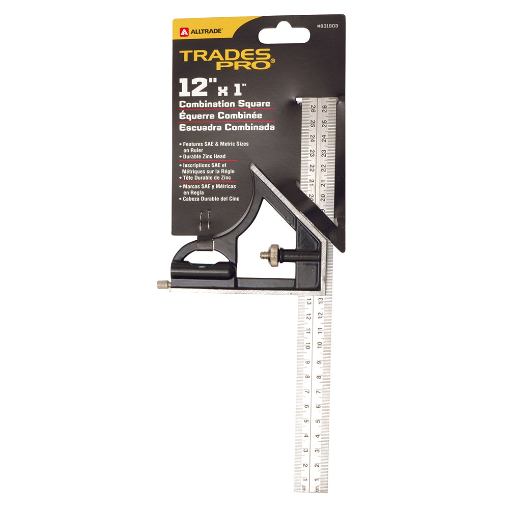305mm Combination Square - Online Tools