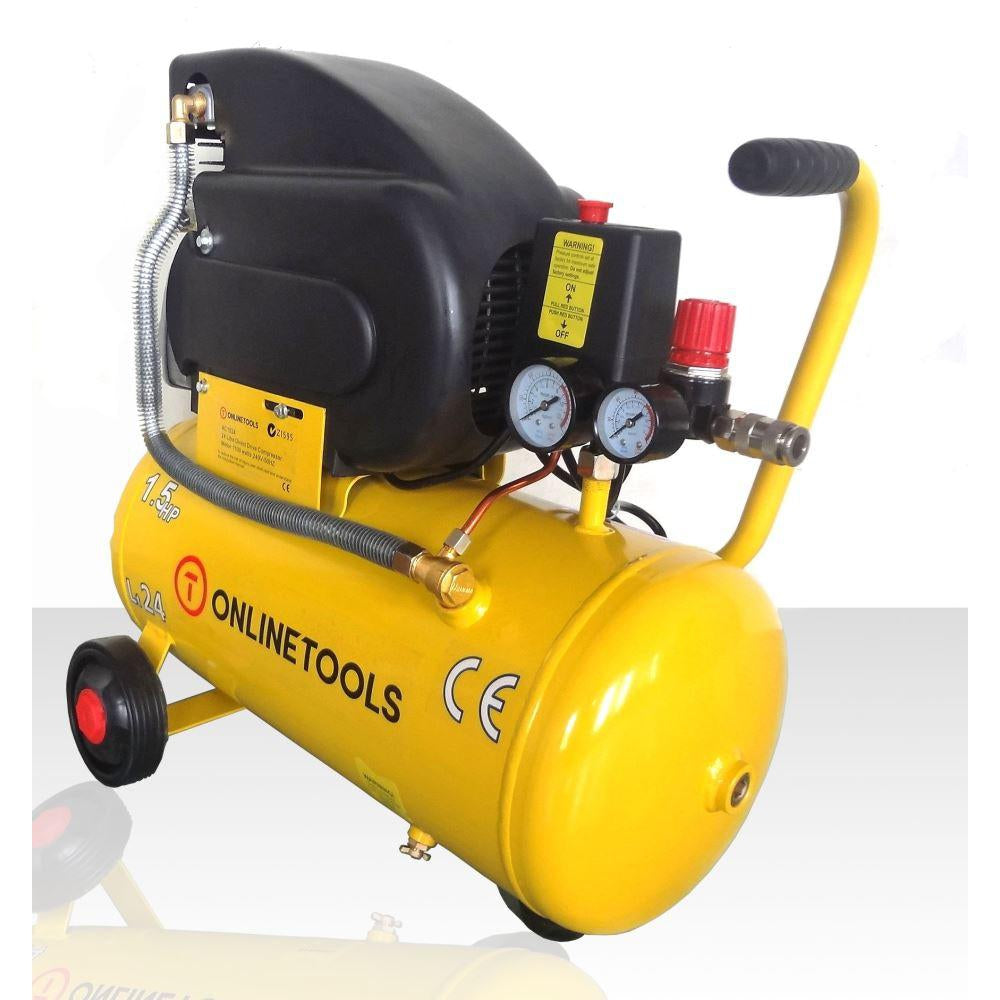 Direct Drive 1.5HP 24 Litre Air Compressor - OnlineTools