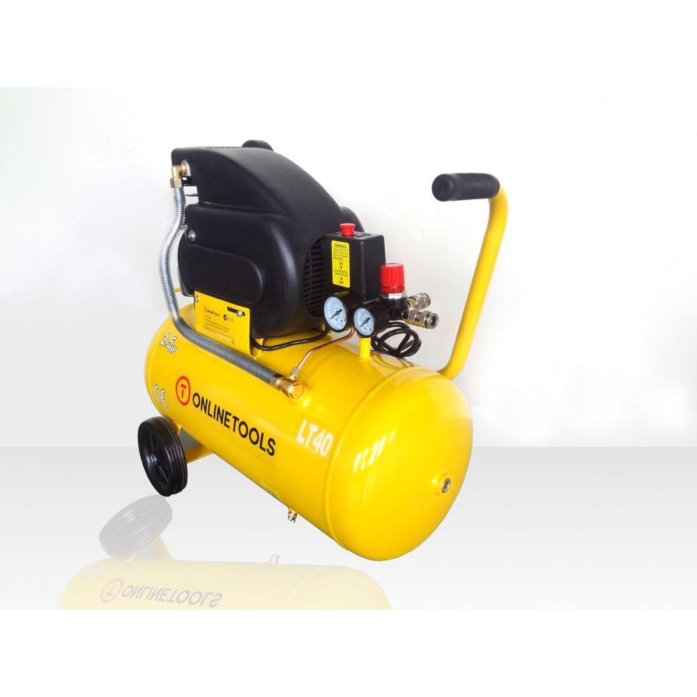 Direct Drive 2.5HP 40 Litre Air Compressor - Online Tools - OnlineTools