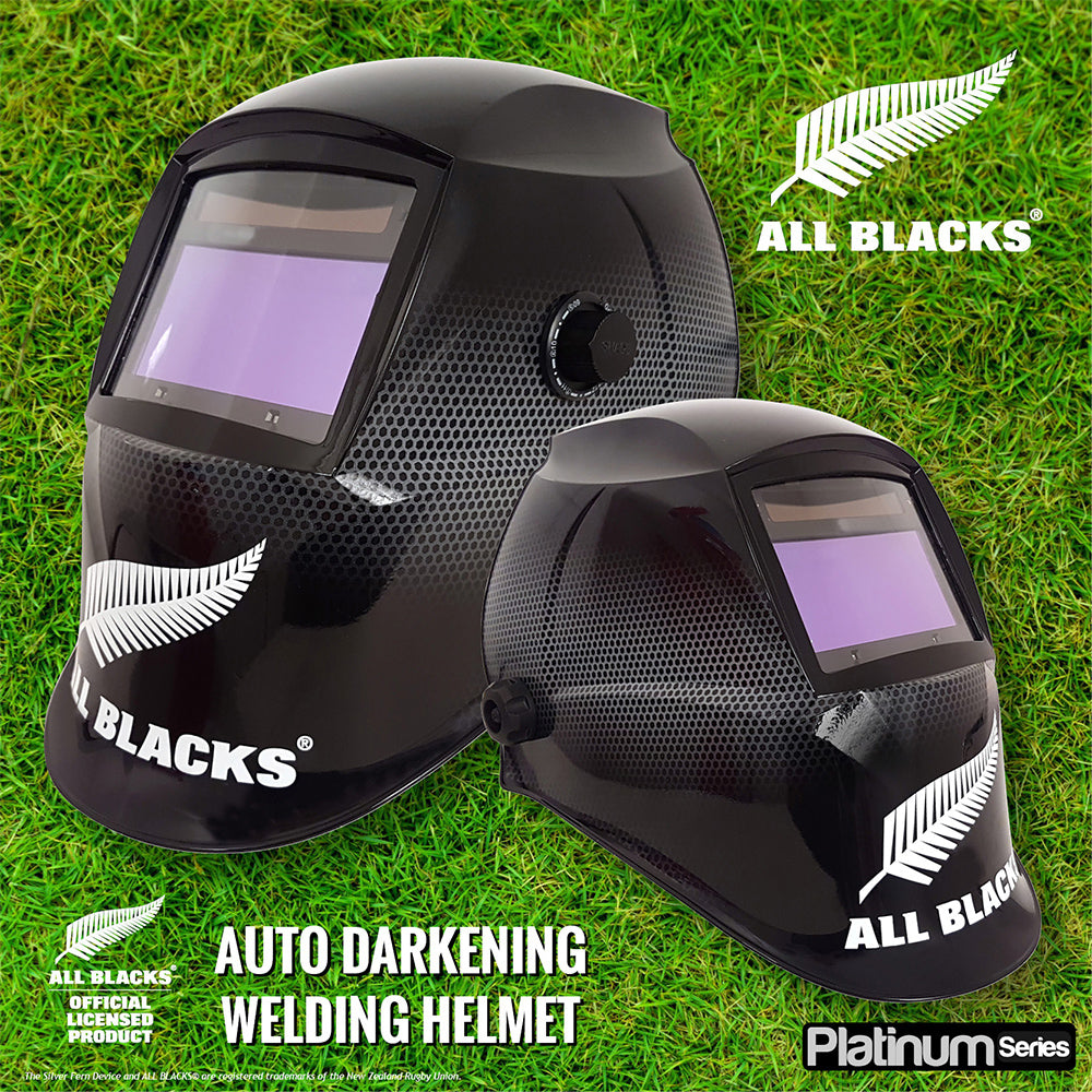 All Blacks Mesh 4 Sensor Welding Helmet - Online Tools