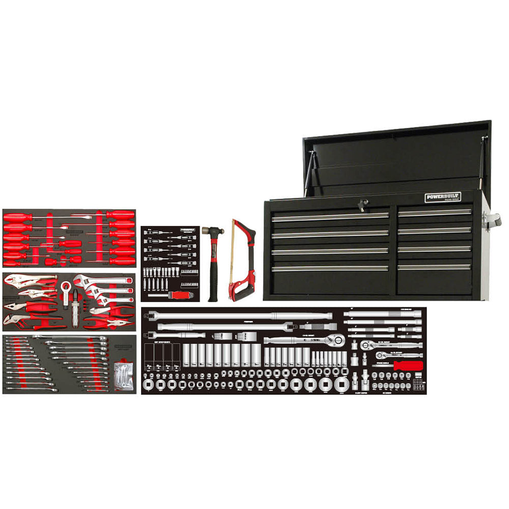 "Powerbuilt 253pc 41"" Tool Chest & Assorted Tools--Onlinetools"