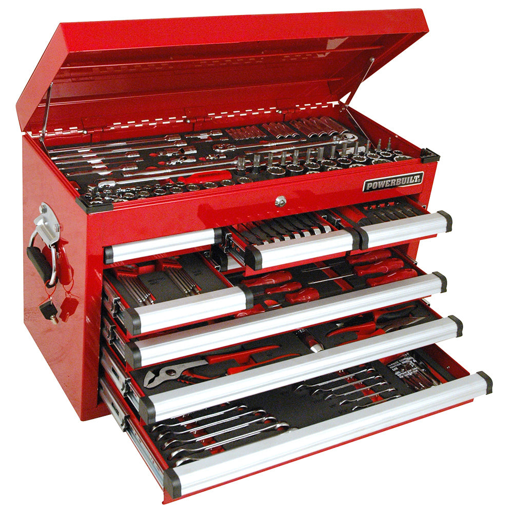 Powerbuilt 248pc Complete Tool Chest & Assorted Tools--Onlinetools