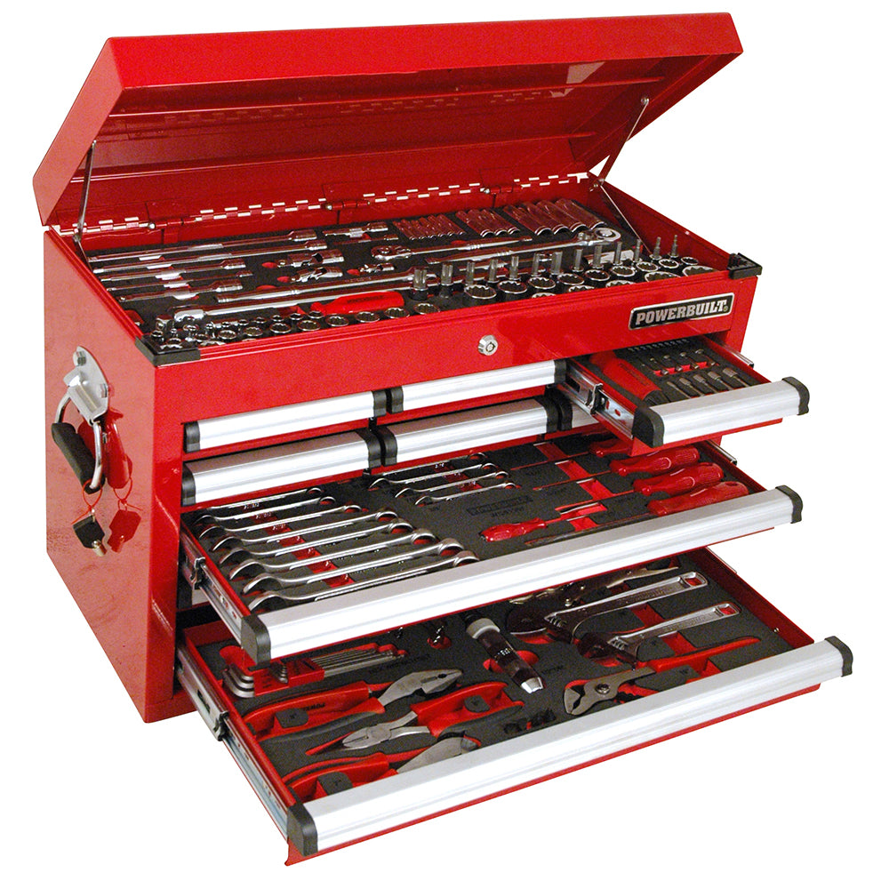 Powerbuilt 189pc Tool Chest & Assorted Tools--Onlinetools
