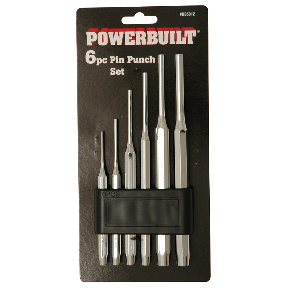 6pc Parallel Pin Punch Set - Online Tools