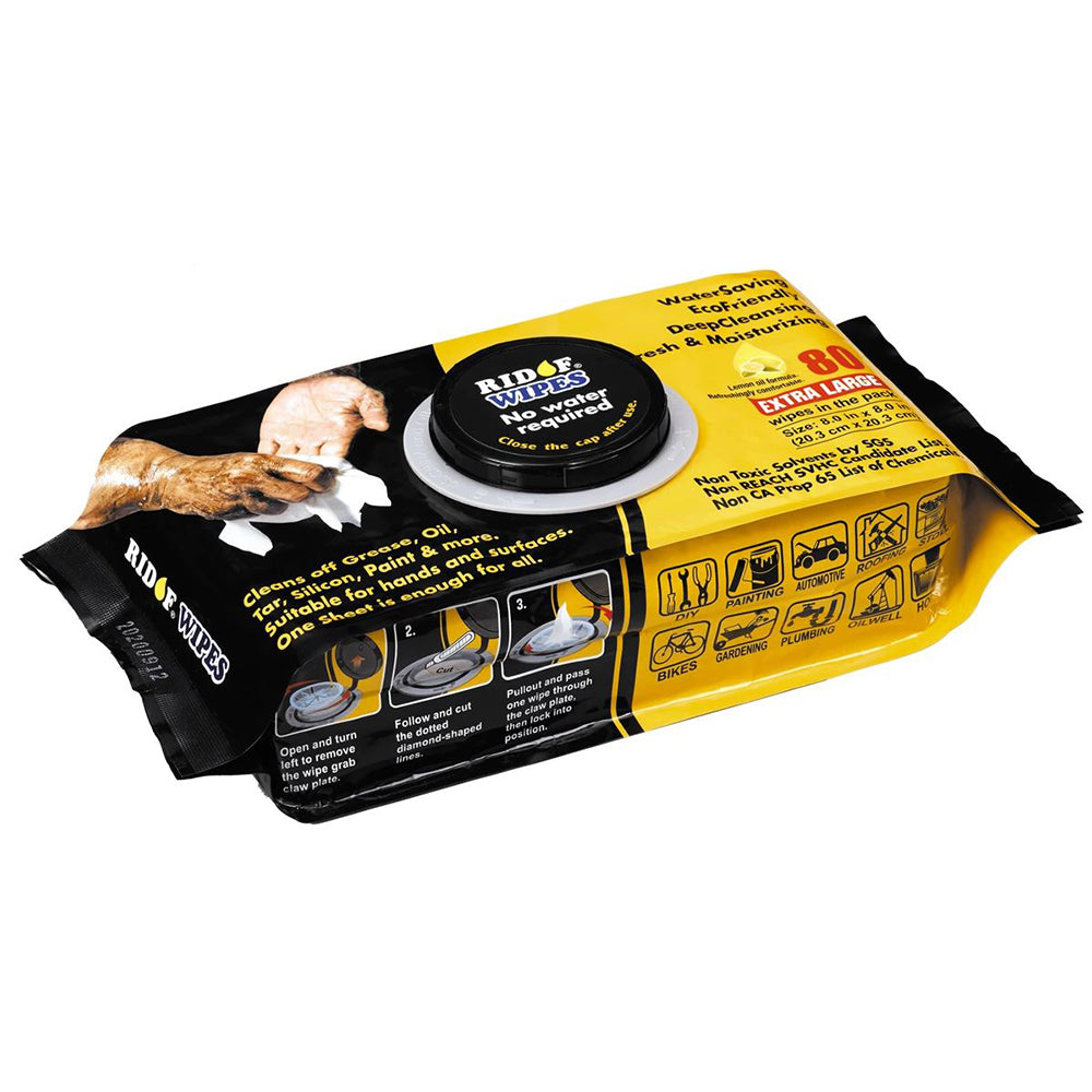 80pc Industrial Wipes Handy Pack  - Online Tools