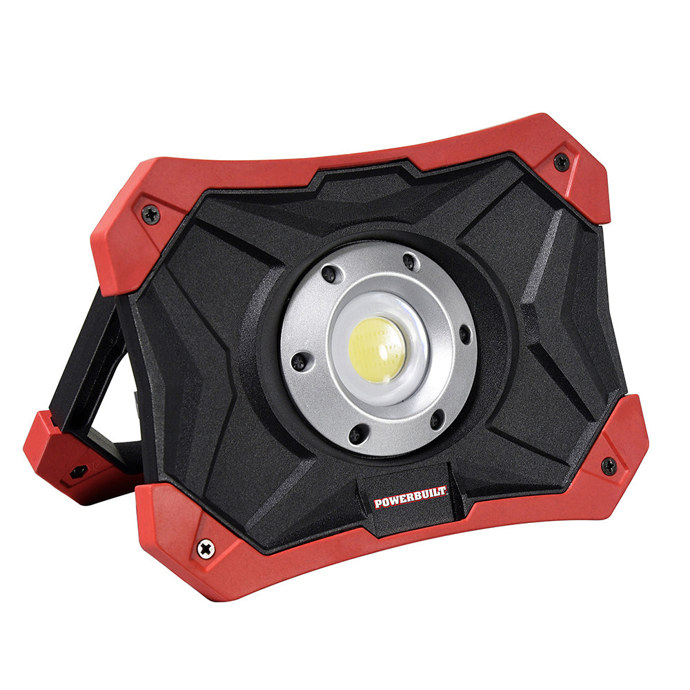 Powerbuilt LED Rechargeable Work Light with Power Bank--Onlinetools