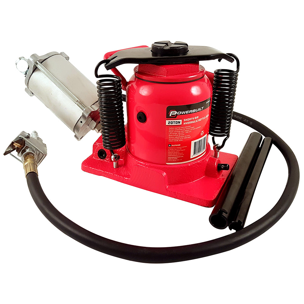20 Ton / 18,000kg Air Hydraulic Shorty Bottle Jack - Online Tools