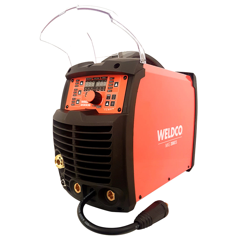 Weldco 200 Amp Inverter Mig/MMA/Tig Welding Machine with Spool gun function