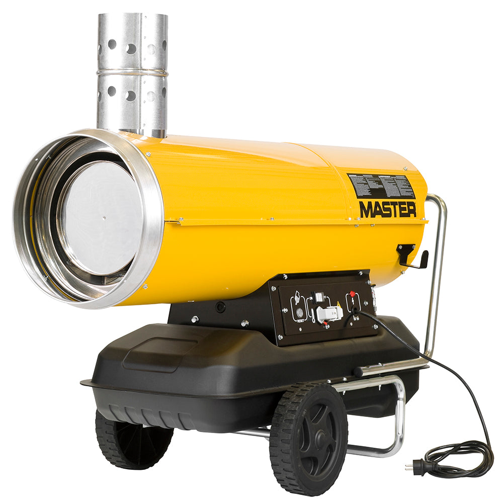 Master Industrial In-Direct Fired Portable Diesel Heater 49kW - Online Tools