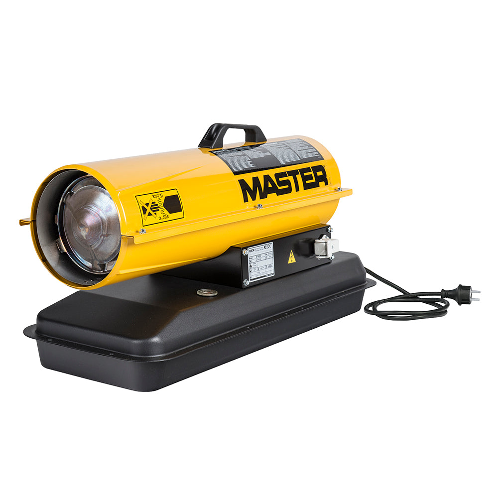 Master Industrial Direct Fired Portable Diesel Heater 10kW - Online Tools - OnlineTools