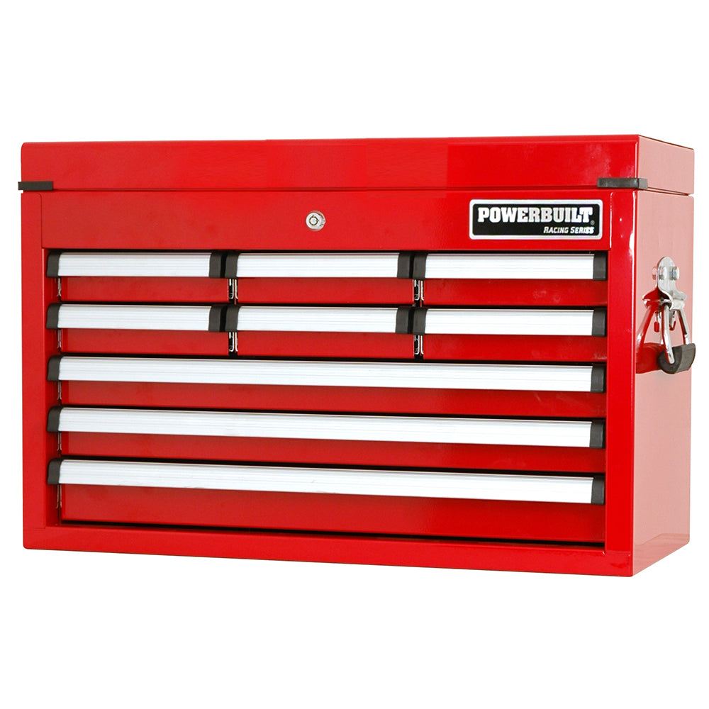 Powerbuilt 9 Drawer Tool Chest - Racing Series--Onlinetools