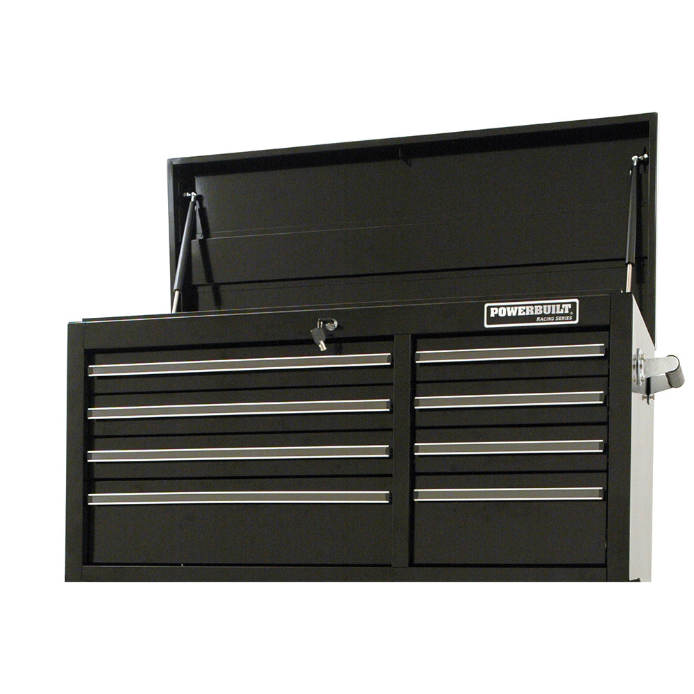 "Powerbuilt 41"" 8 Drawer Tool Chest - Racing Series--Onlinetools"