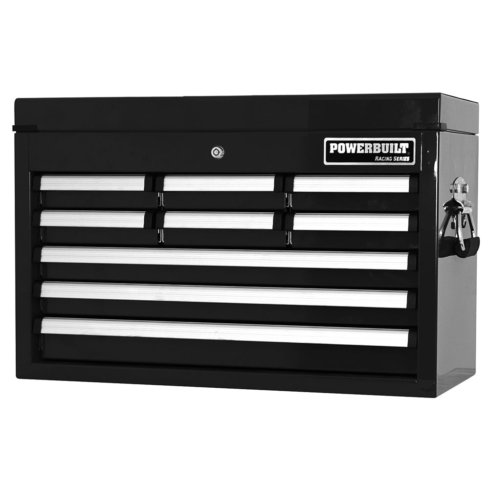 9 Drawer Tool Chest - Racing Series Black - Online Tools - OnlineTools