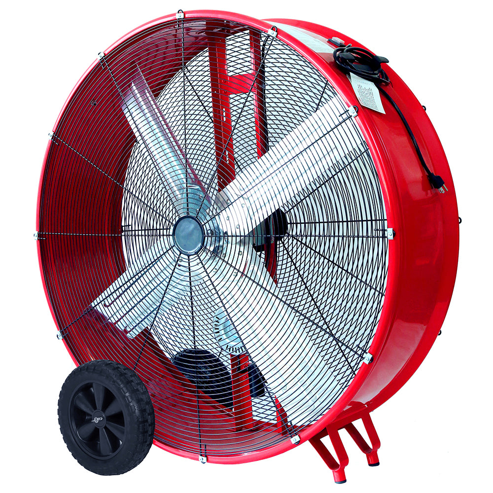 106cm High Capacity Belt-Drive Barrel Fan