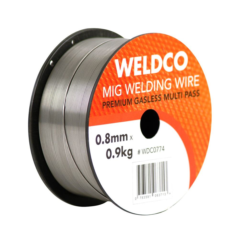 Weldco Mig Welding Wire - Premium Gasless Multi Pass – 0.8mm