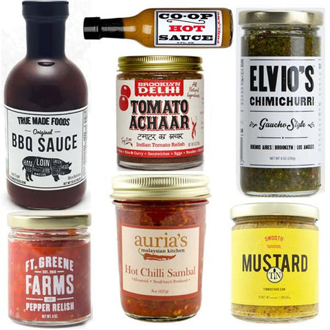 Condiments to the Chef Basket