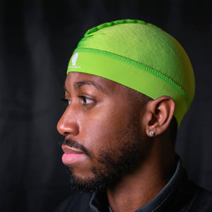 Lime Green Royalty Cap