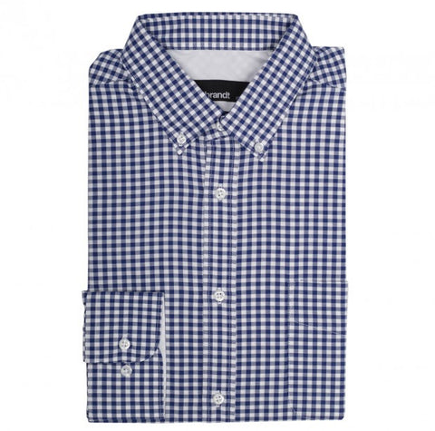 Rembrandt Awaroa Navy Check L/S Shirt