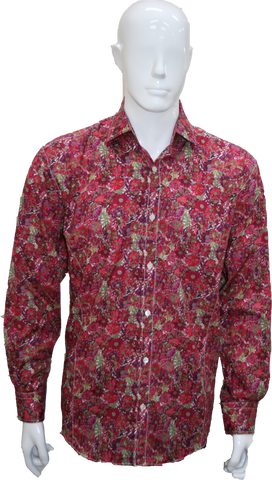 LFD Liberty LS Shirt Raspberry Z8059