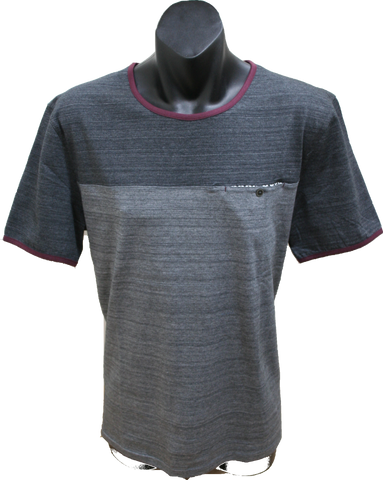 Astin Smith Grey Marle T Shirt K311