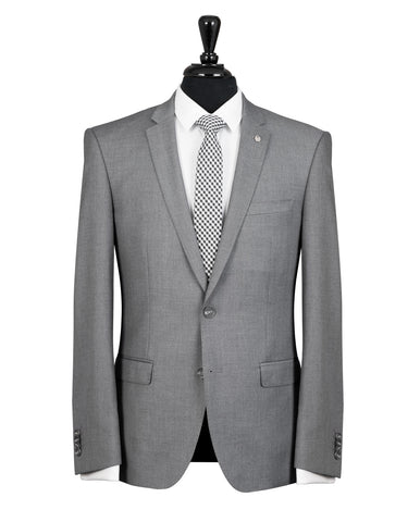 Bruton Light Grey David Suit Jacket