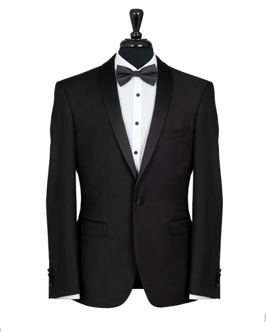 Savile Row Black Alexander Formal Jacket