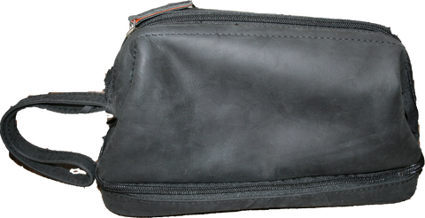 Avenue Hunter Leather Toilet Bag