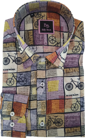 Billy Best Bicycles LS Shirt