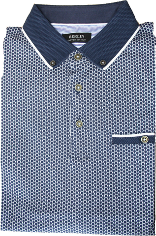 Berlin Houndstooth SS Polo