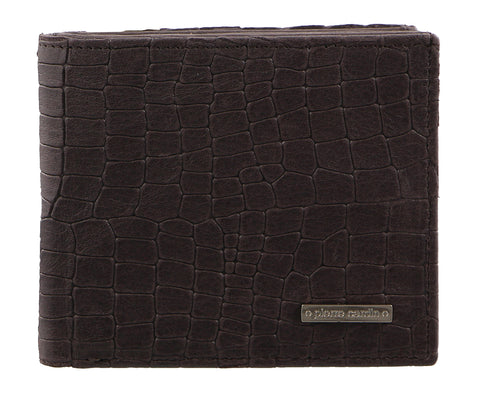 Pierre Cardin Mens Croc RFID Wallet PC2453