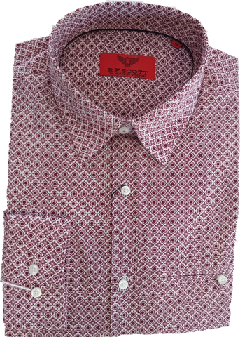 R.F. Scott Kyle Ruby LS Shirt