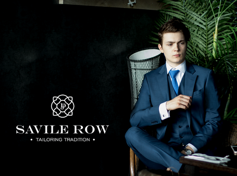 Savile Row Blue Jesse Trousers (with Jacket)