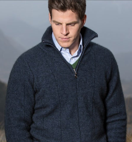 Noble Wilde  Javelin Zip Neck