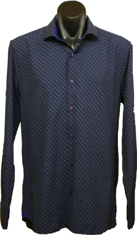 Di Nero LS Shirt Midnight Xavier