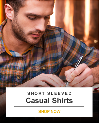Short Sleeved Casual Shirt