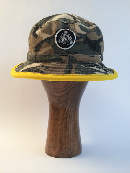 Camo / Cameo Bucket Hat (Yellow)